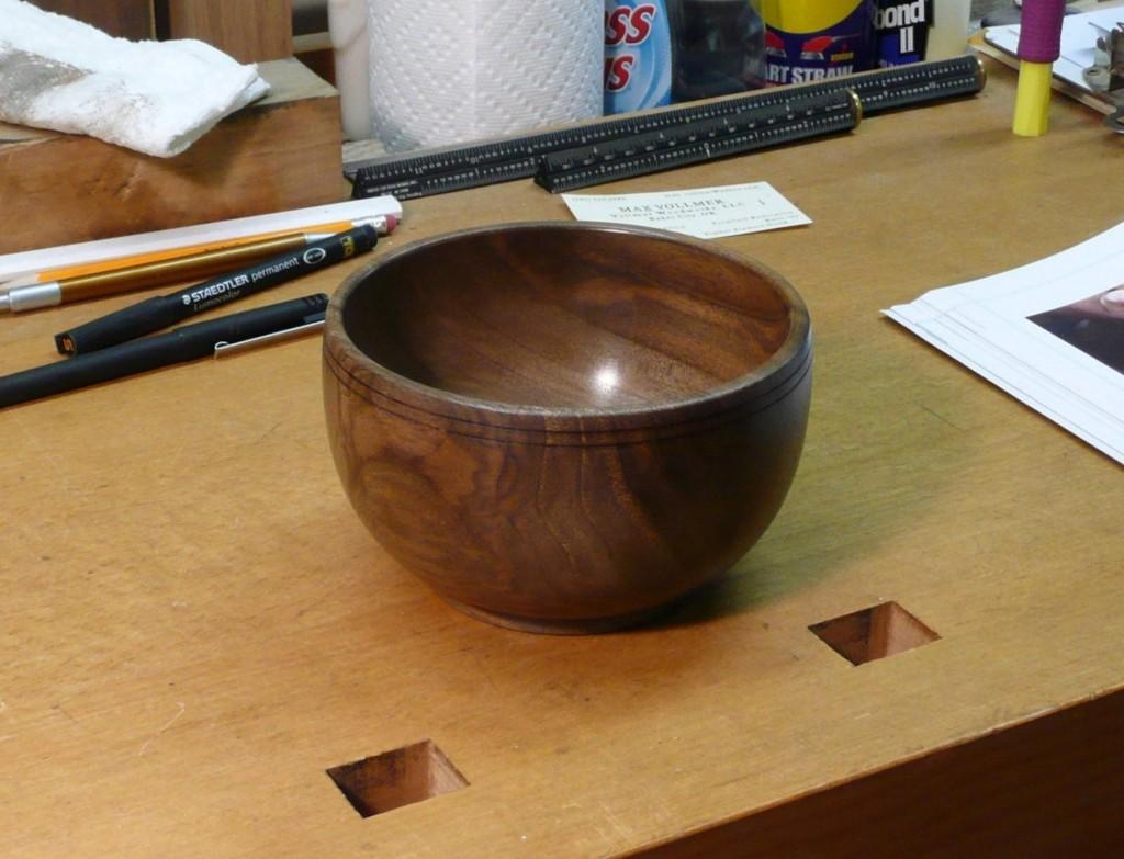 Bowl #1, Emily's Claro Walnut Bowl