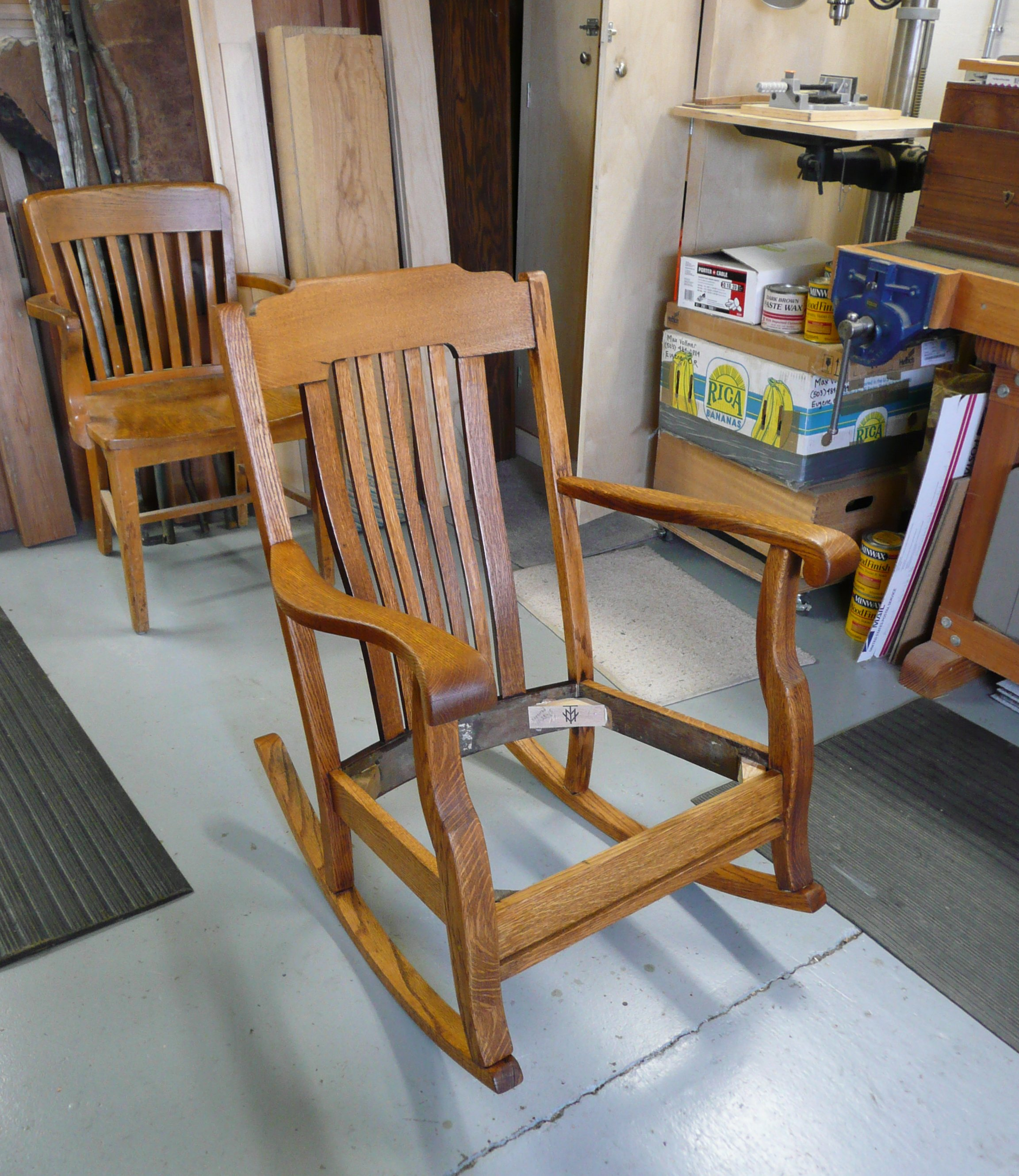 Rocking Chair Repair Max Vollmer