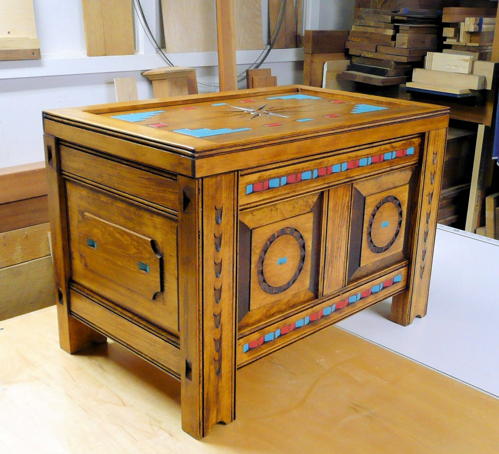 Taos Style Chest 102