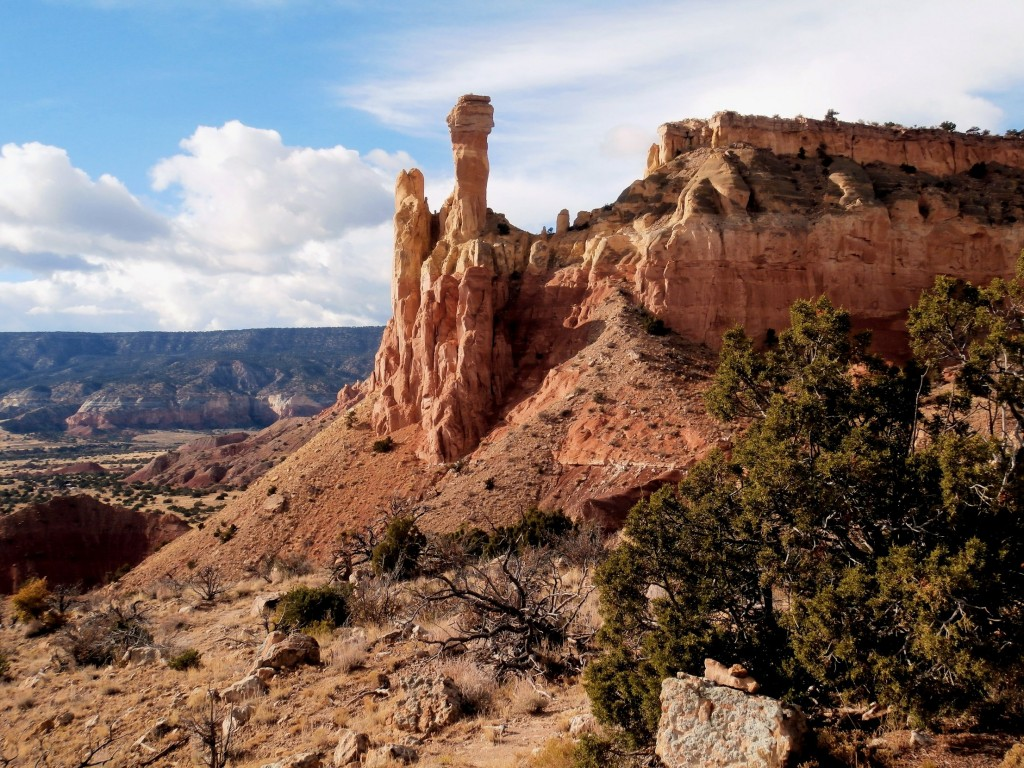 "The ""Chimneys"" at Ghost Ranch"