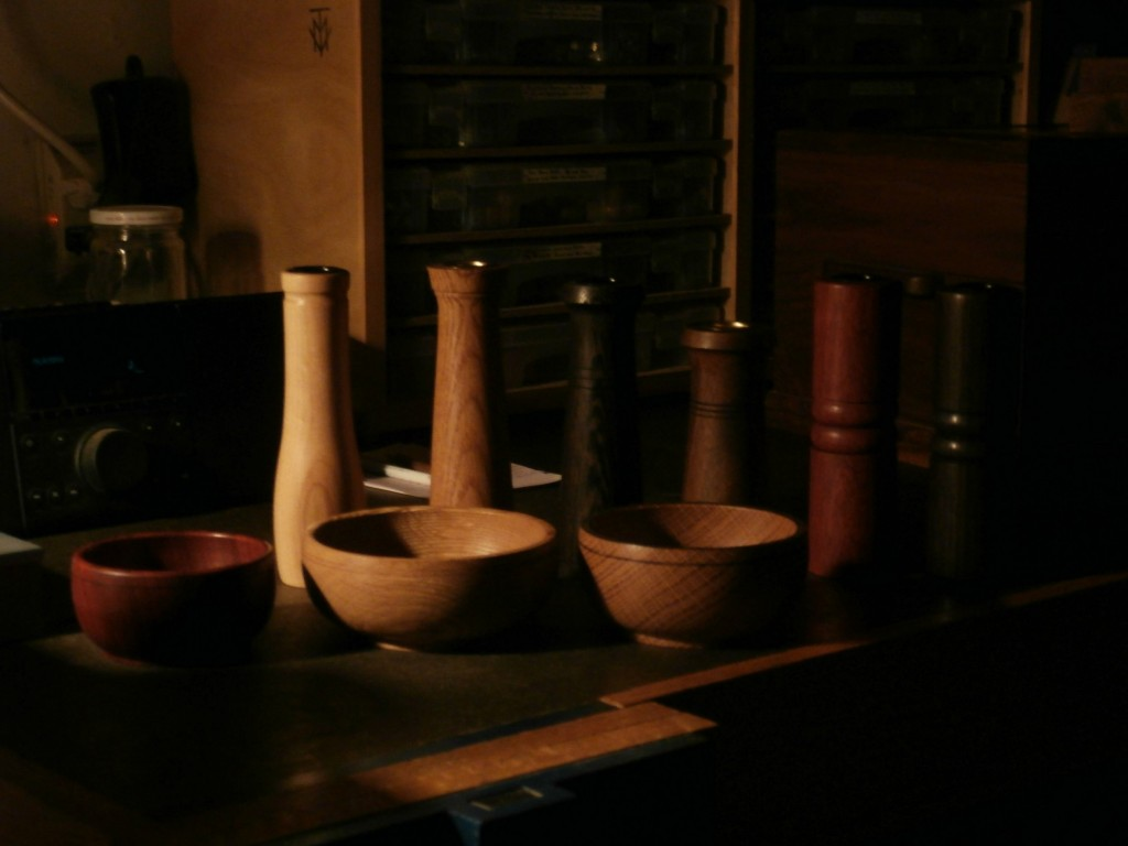 Bowls and vases
